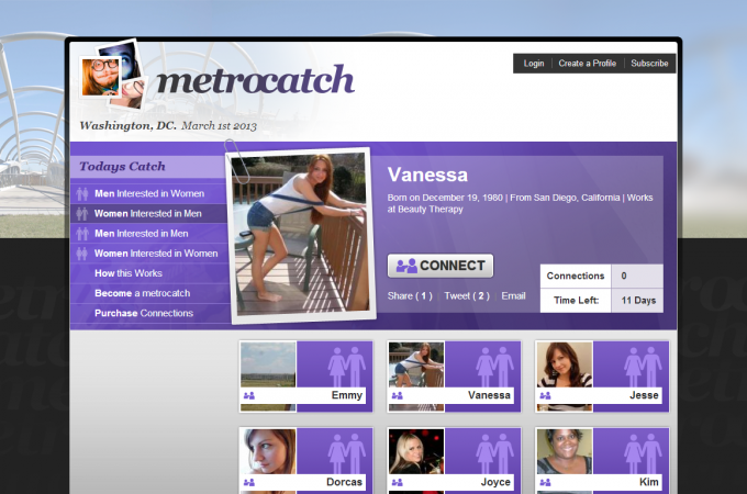 Drupal dating site theme